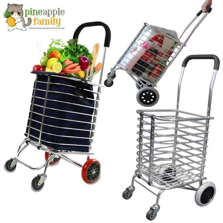 Multi Functional Foldable Shopping Trolley By Pineapple Family.