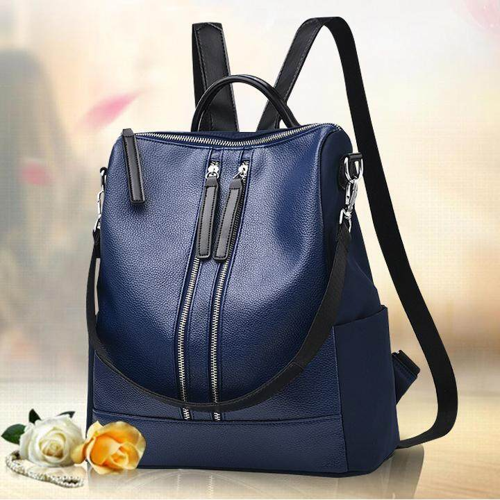 315f526bb455 BG387 Fashion Classic PU Backpack   Shoulder Bag