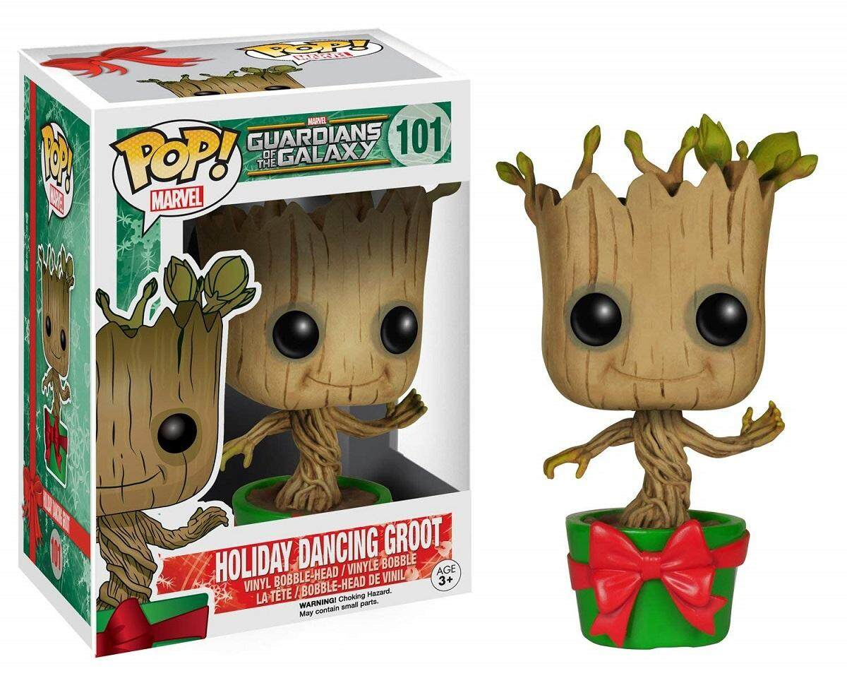 Funko Pop Vinyl Figures For The Best Prices In Malaysia Games Destiny Sweeper Bot Sdcc Guardians Of Galaxy Holiday Dancing Groot Bobble Head Figure