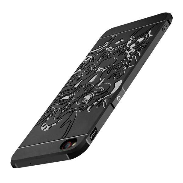 Phone Cover Blade Series Dragon Patterned Soft Silicone Case Drop Resistance Shockproof Protector Shell For Nubia