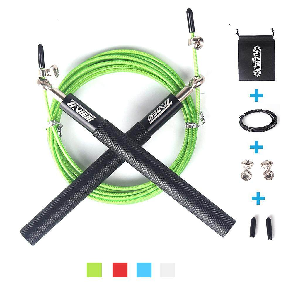 Crossfit Speed Jump Rope Professional Skipping Rope for MMA Boxing Fitness Indoor Outdoor Workout Training Exercises