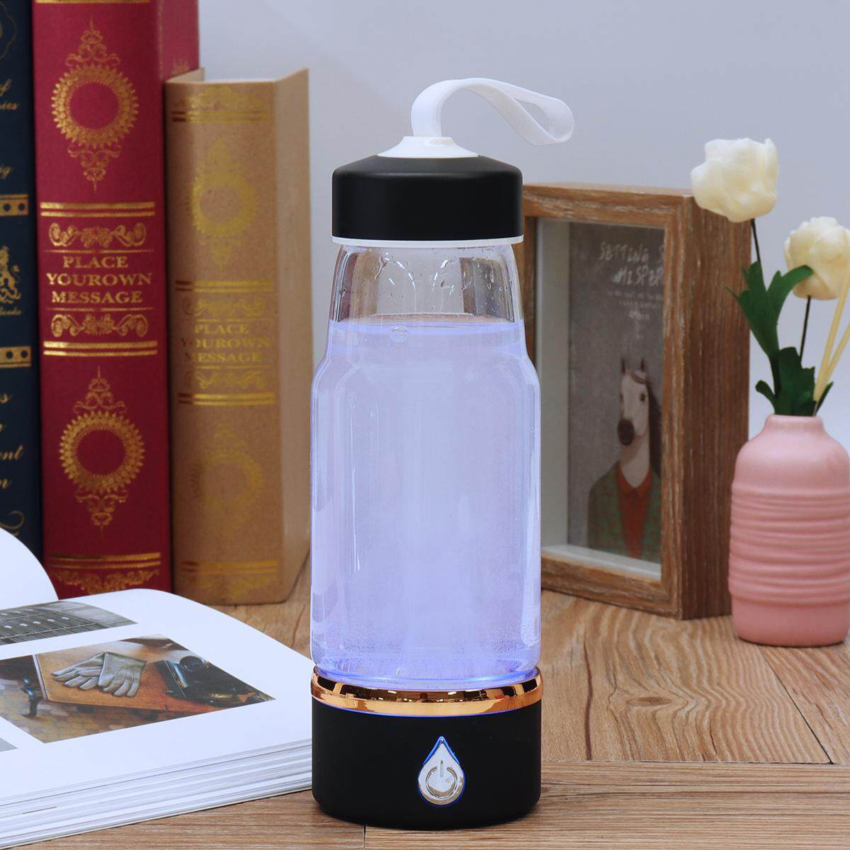 Usb Rechargeable 420ml Hydrogen Water Generator Intelligent Hydrogen Rich Water Bottles Alkaline Water Maker Portable Purifier By Paidbang.