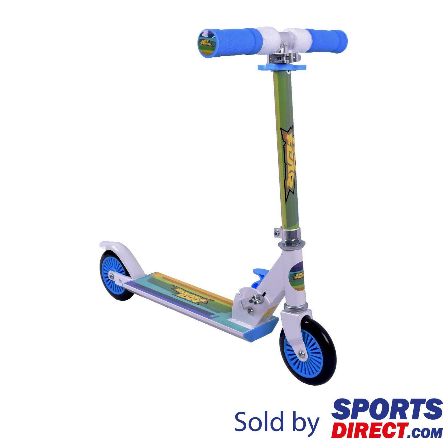 No Fear Kids Scooter (black/green) By Sports Direct Mst Sdn Bhd.