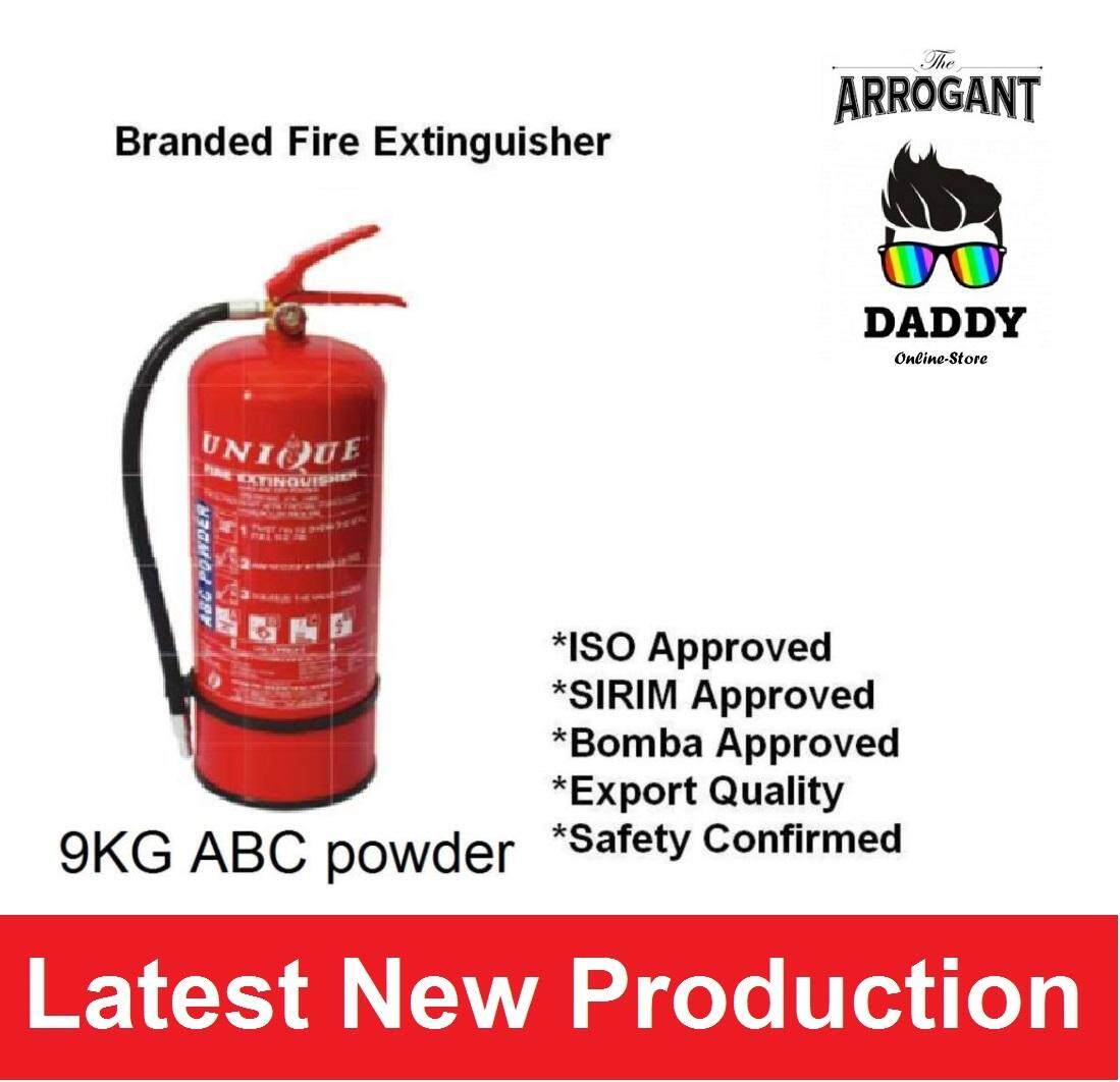 9KG ABC Powder Fire Extinguisher New unit SIRIM and ISO approved unit