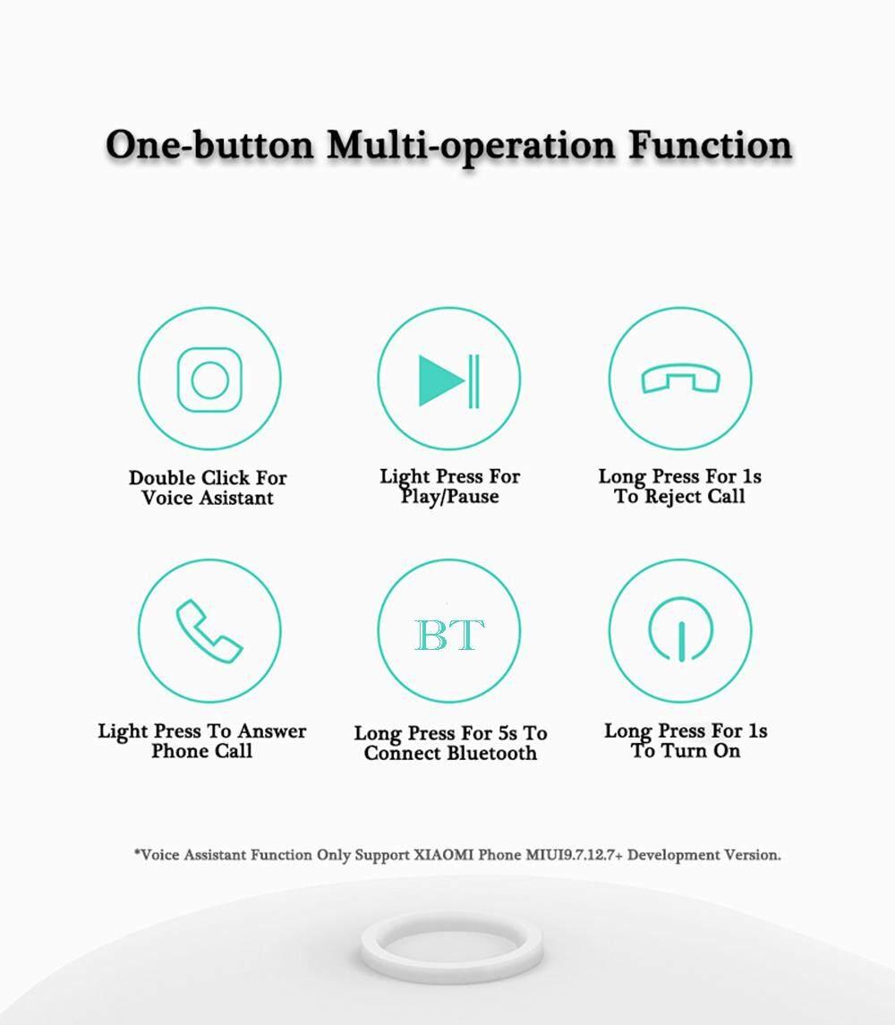 Original Xiaomi LYEJ05LM Mini In-ear Single Bluetooth Earphone Wireless Ultralight IPX4 Waterproof Earbud with Magnetic Charging