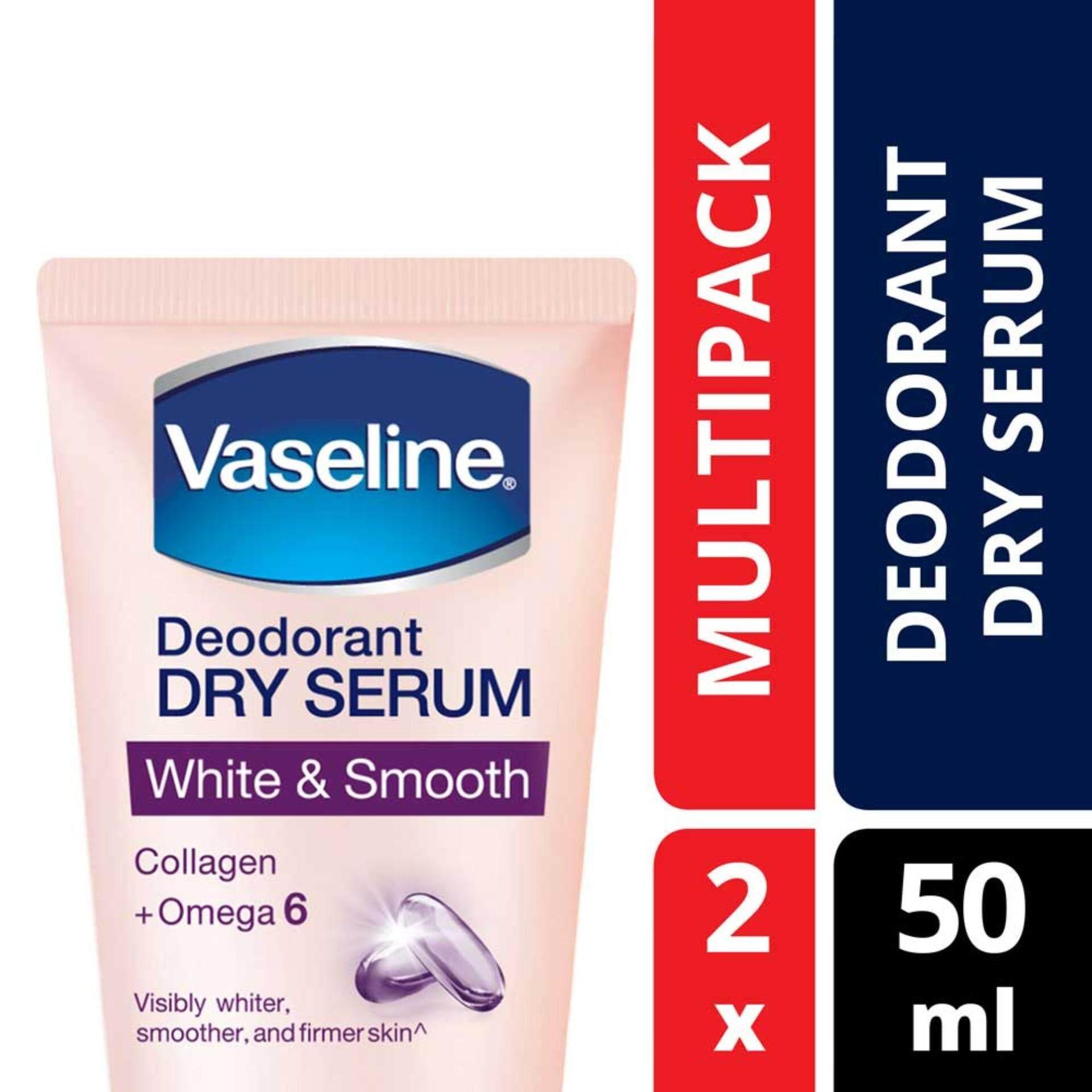 Vaseline Deodorant Dry Serum White & Smooth 50 ml ...