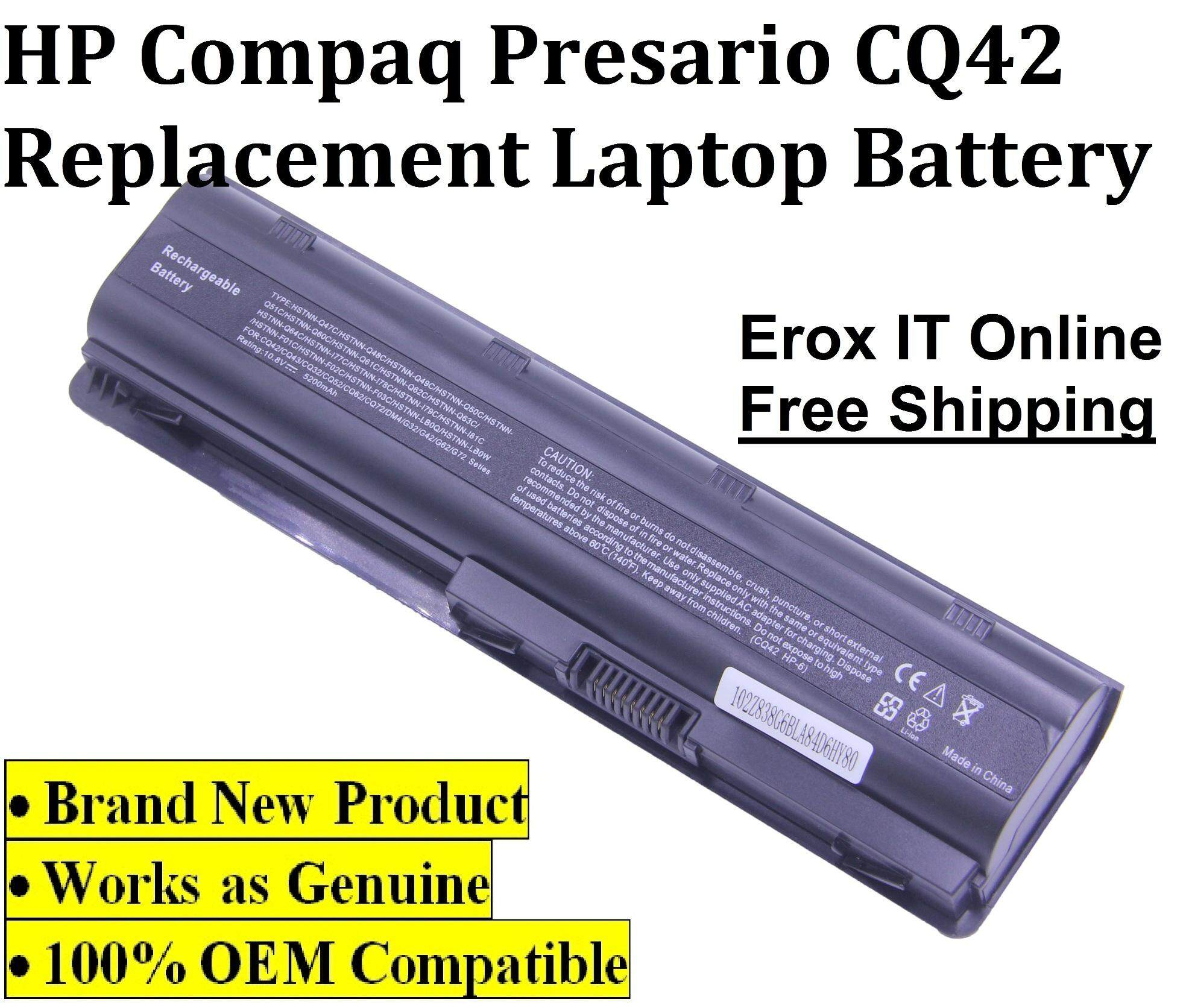 Replacement Battery for HP Pavilion DM4-3001TX /HP CQ42 Replacement Battery Malaysia