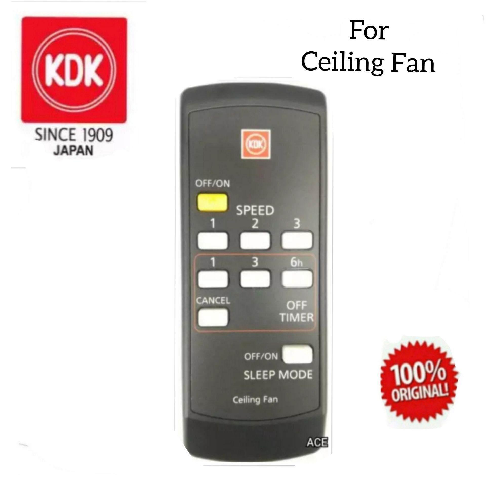 Kdk Original Ceiling Fan Remote Control 4ck12muse For K14y9 K14x8 Gy