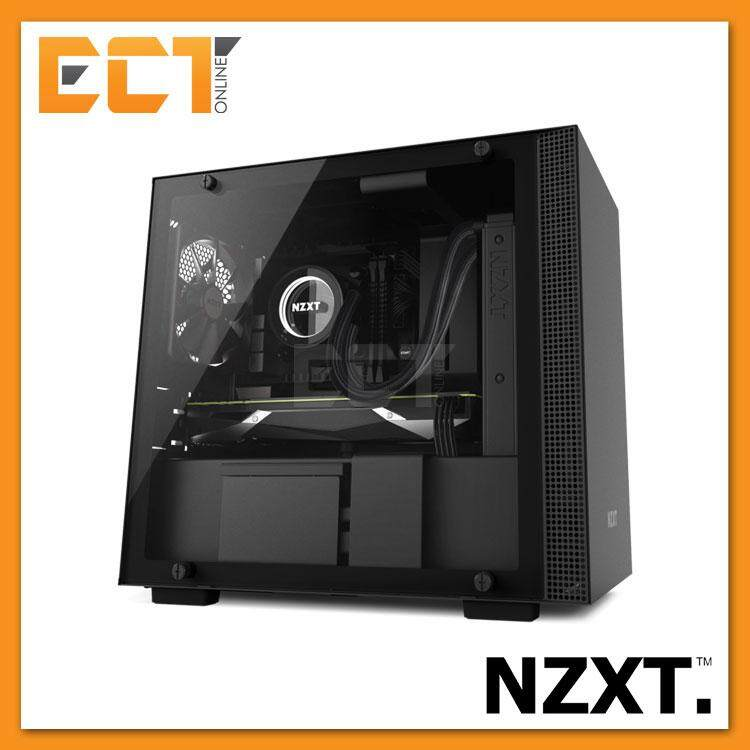NZXT H200i Full Tempered Glass Mini-ITX Gaming Casing Chassis (Black/White/Red) Malaysia
