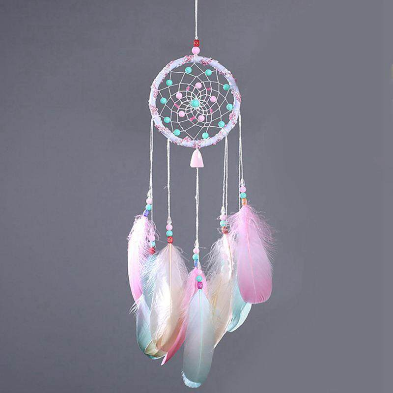 Wind Chimes Dream Catcher Handmade Gifts Dreamcatcher Feather Pendant Creative Car Hanging Decoration By Fastour.