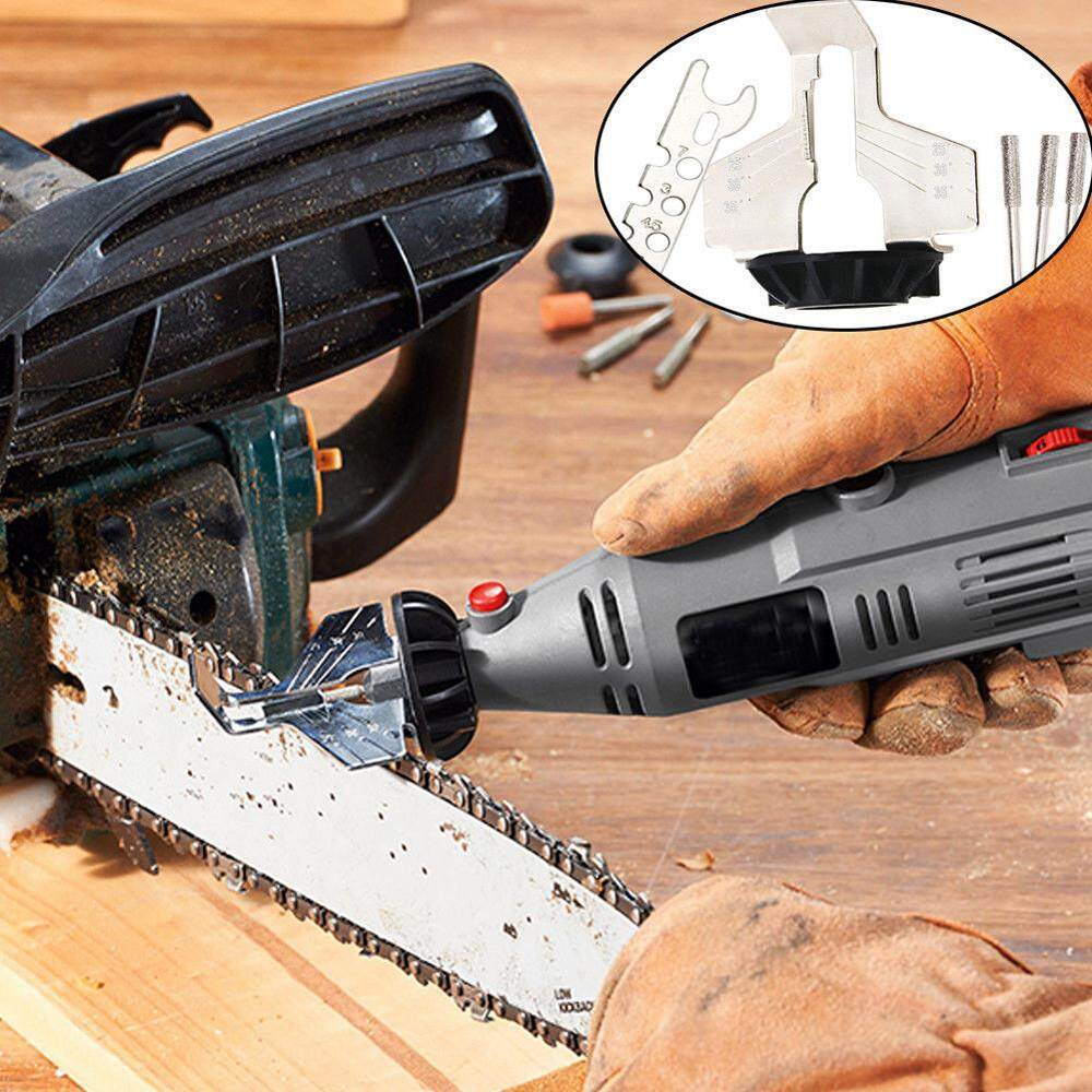ALEX best pick must have Chain Saw Sharpening Tool Attachment Rotary Power Drill Hand Sharpener Adapter COD FREE SHIPPING