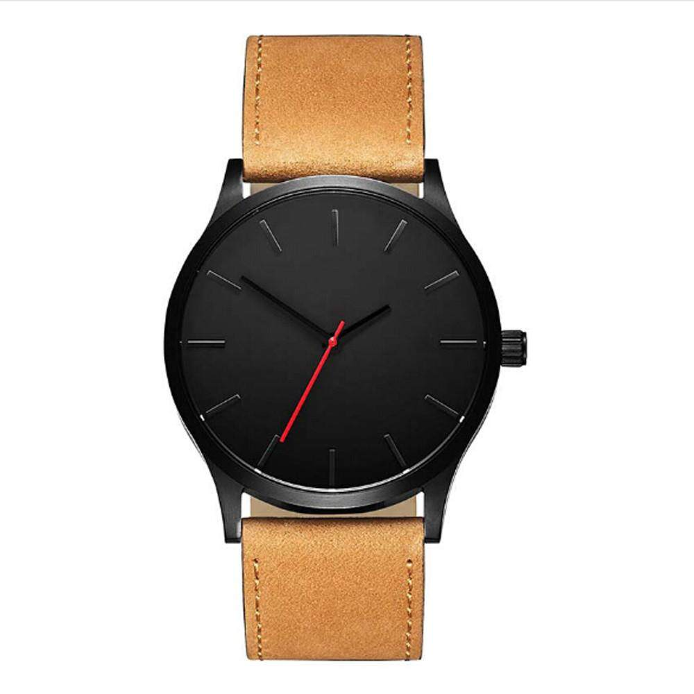 coconie Fashion Business Quartz Large Dial Watch For Mens Matte Belt Wrist Watch Malaysia