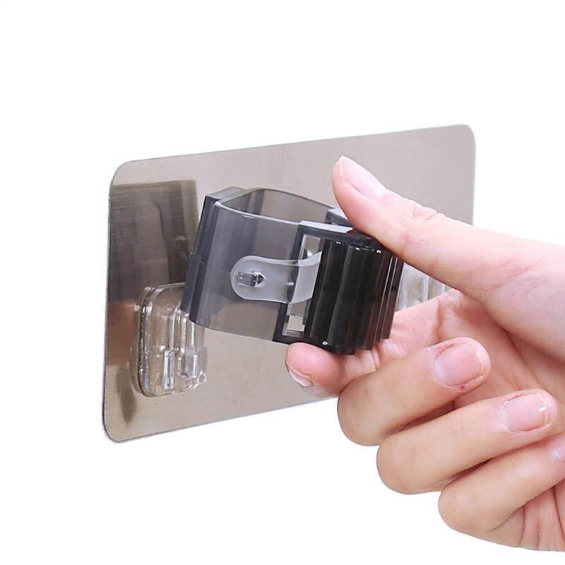 Ecofriendly Kitchen Broom Rack Kitchen Bathroom Hook Multifunctional Self-Adhesive Seamless Stickers Mop Rack