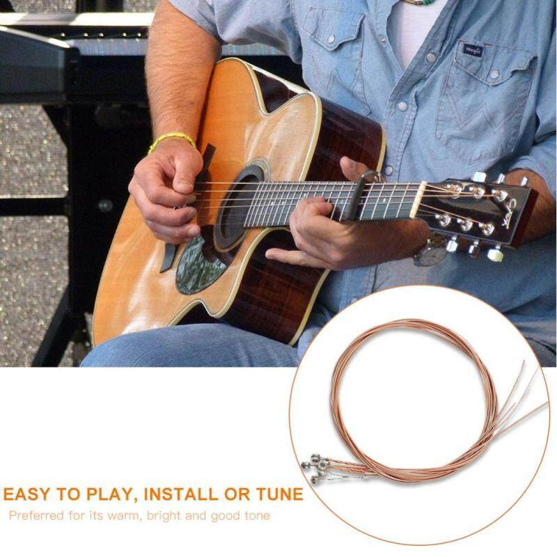 【ELE】IRIN Folk Guitars Stainless Steel Wire Strings Guitar Replacement String Accessories(Multicolor) Malaysia