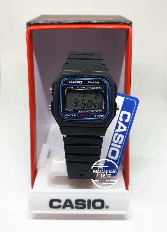 Casio Alarm Crhonograph F-91 WR Malaysia