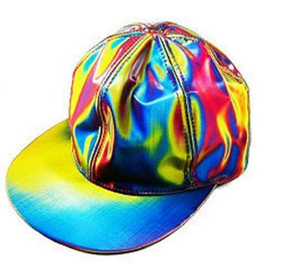 NEW arrival Bigbang G-dragon Color Changing Snapback Back to the Future  Prop baseball cap MARTY MCFLY Hats