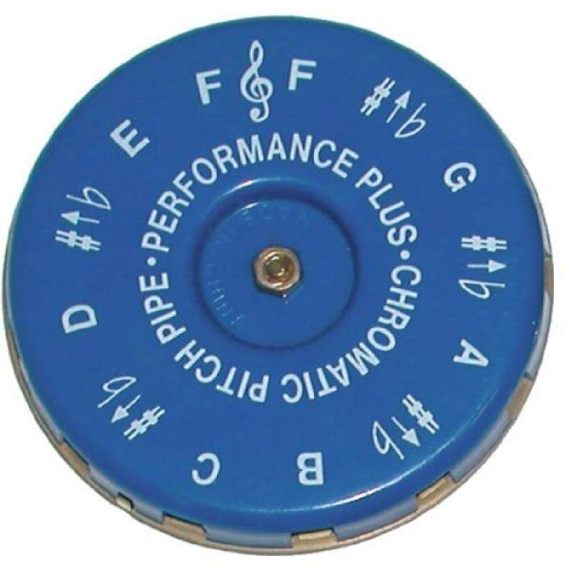 Performance Plus CP-F Vocal Chromatic Pitch Pipe Key of F to F with Carrying Bag Malaysia