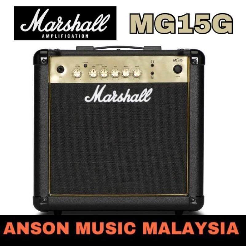 Marshall MG15G 15W Guitar Combo Amplifier Malaysia