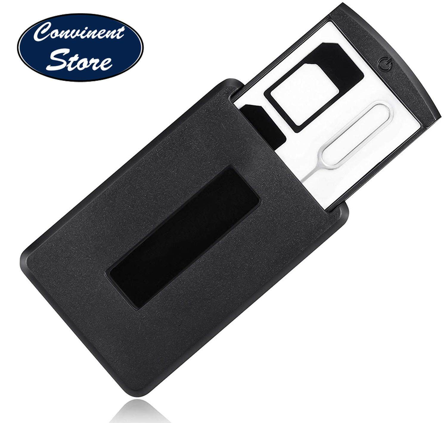 ✅peripro-402 11165 Mobile Safe Case - Store Safely Sim Card And Micro Sd Card - Includes Micro Sim Adapter, Nano Sim Adapter, And Remove Pin For Iphone, Nexus And Galaxy By Convinent Store.