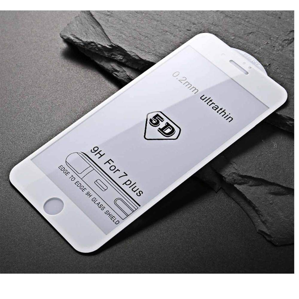 Oppo F7 5D 0.2mm Full Cover Tempered Glass Screen Protector- White Edge
