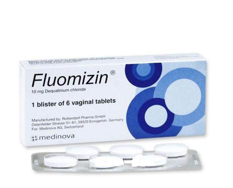 Fluomizin (intimate Use) Tablets 6s By Asia Wellness.