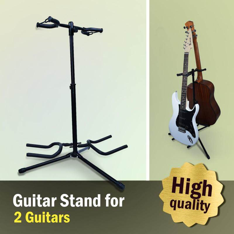 Guitar Stand For Two Guitars (All Kinds Of Guitars & Ukulele) Malaysia