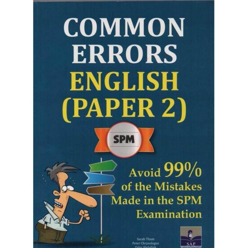 SAP Common Errors English (Paper 2) SPM Malaysia