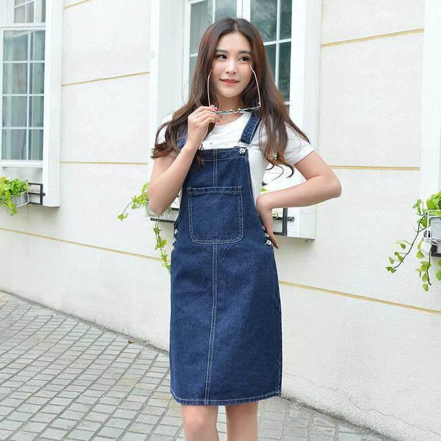 a03f042df91 Outlet Fashion Women Dresses Ladies Denim Slim Sling Skirt [FREE SHIPPING]