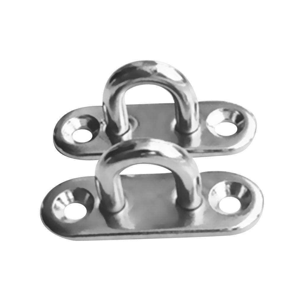 Heavy Duty Circular Pad Eye 316 Stainless Steel Marine Grade 5 Piece 35mm