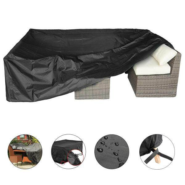 Outdoor furniture cover, 200CM and square type, 210T polyester taffeta material, inside silver coating, outside Black color, 200*160*70cm Free Shipping