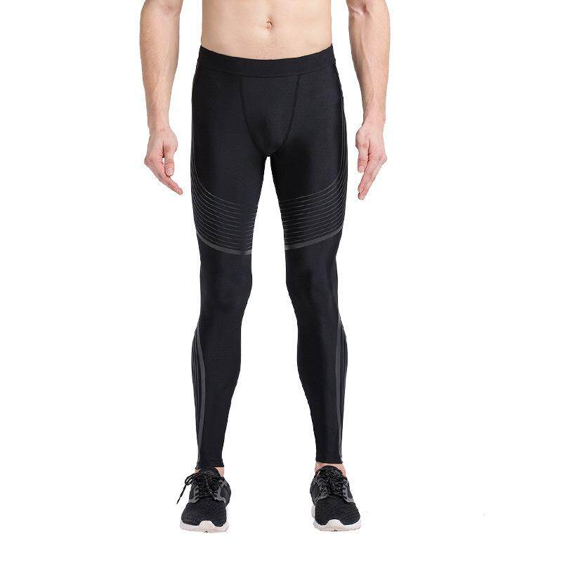 b61deaecb6 Sport Men Compression Trousers Quick Dry Running Fitness Leggings