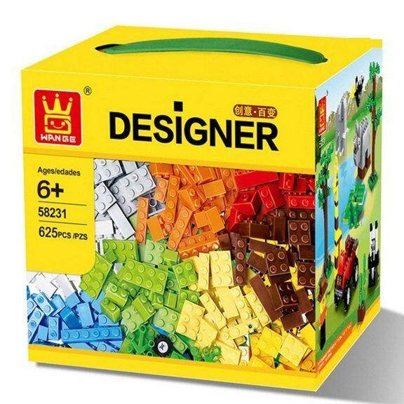 625 Pieces Bricks Building Blocks Toy By Toys & Tots.