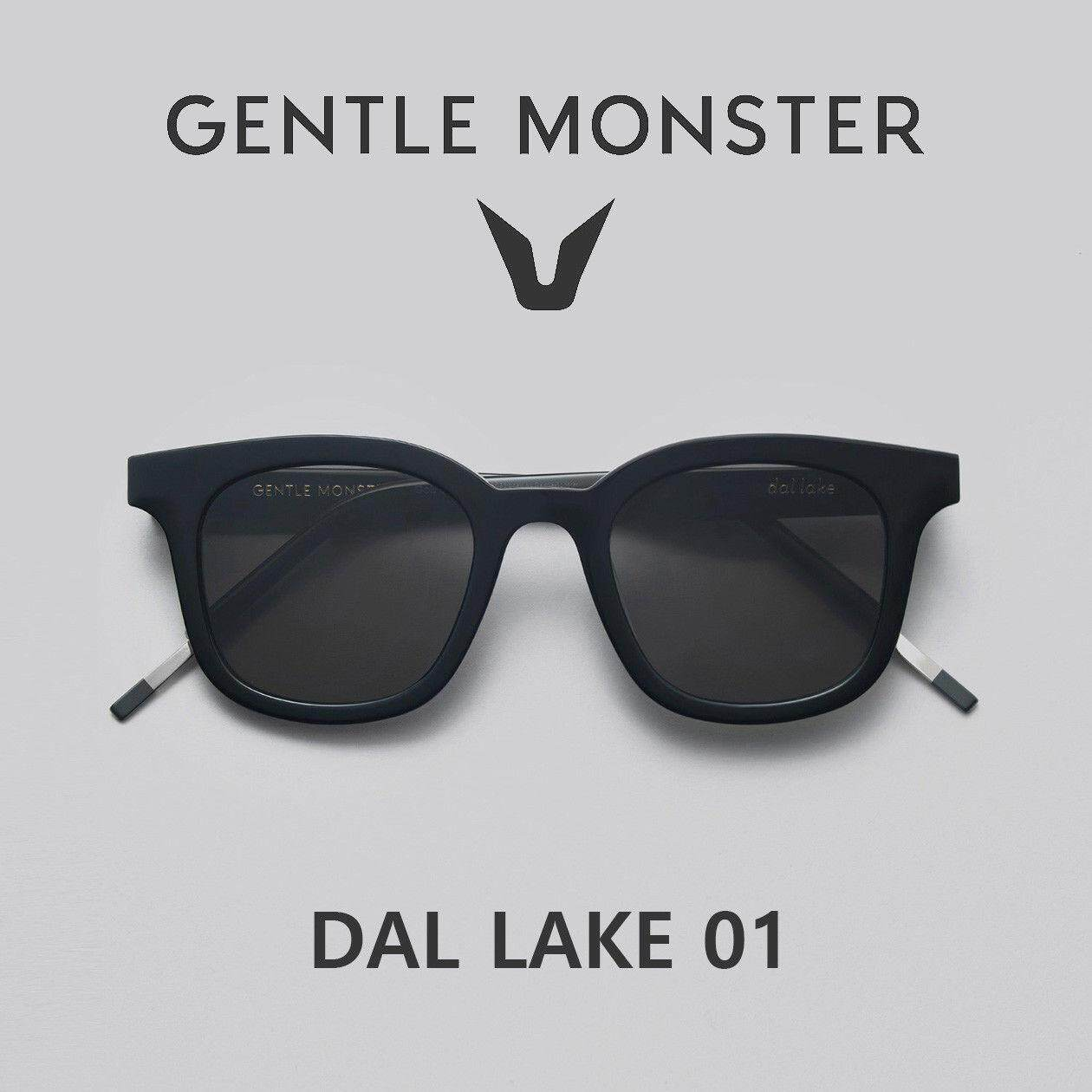 6d9e18548a76 Gentle Monster Dal Lake 01 Black Sunglasses Korea Sunglass eyeglasses lens  glasses Malaysia