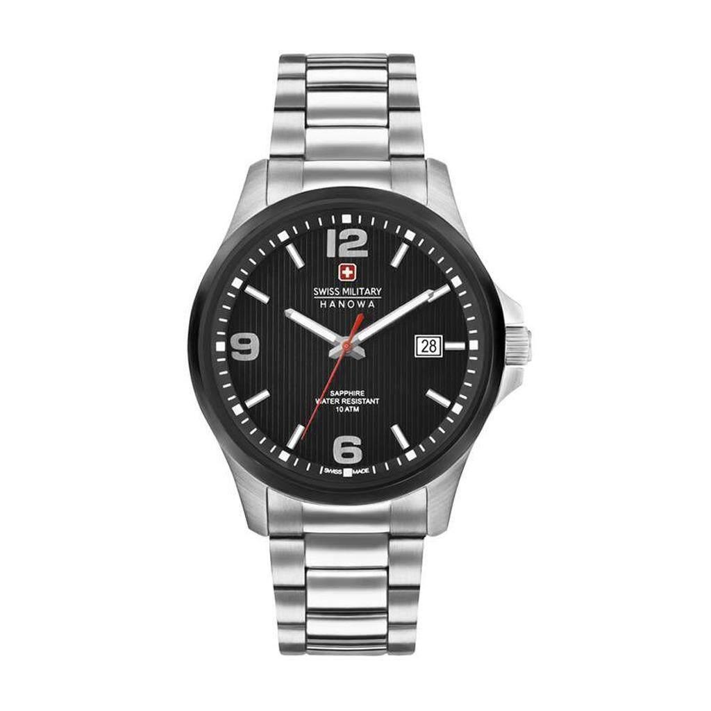 6743548da7a8d4 [Summer Sale] Swiss Military Observer 06-5277.33.007 Men's Stainless Steel  Watch