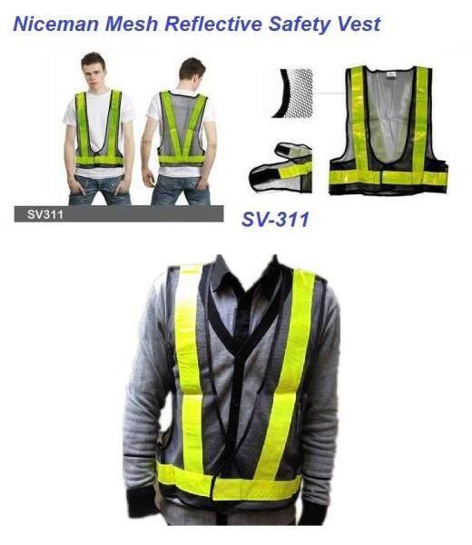 Niceman V-shape High Reflective Safety Vest with Netting