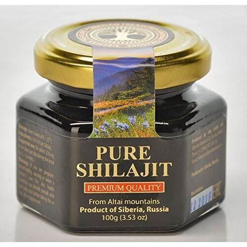 Siberian Treasure Pure Authentic Shilajit Siberian Mumijo, 100 Grams, 3.5 Oz By Cross Border.