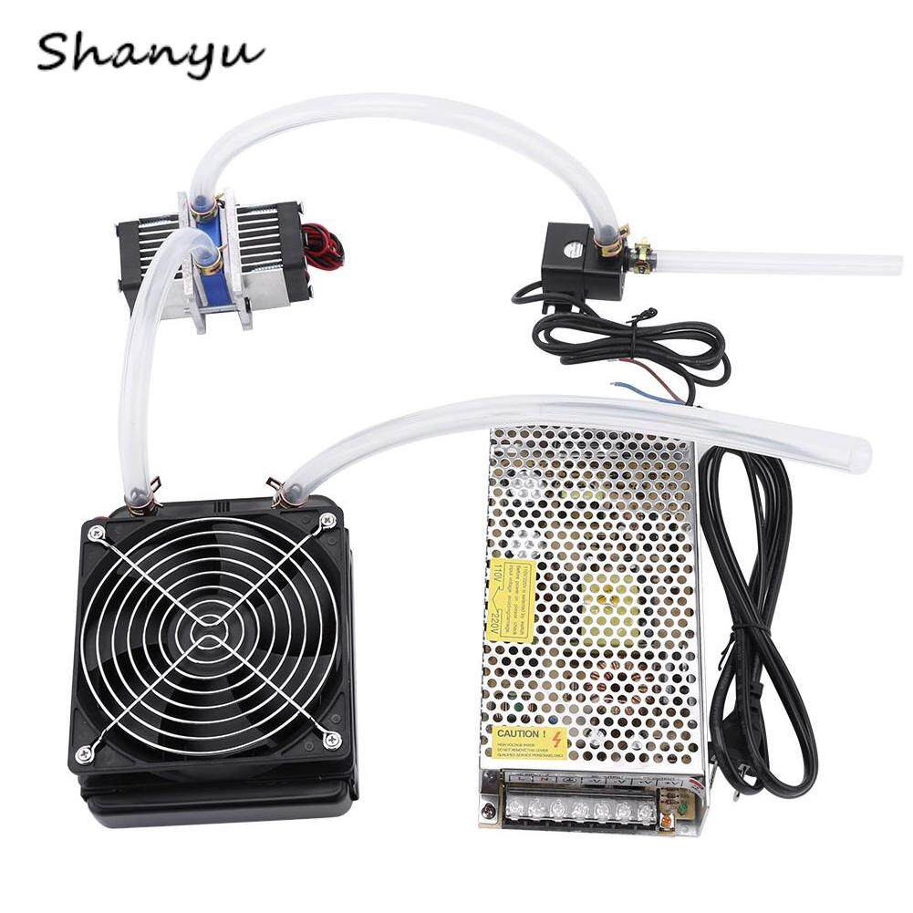 Shanyu 144W Semiconductor Thermoelectric Peltier Refrigeration Cooler+Water Cooling System(cooler kit) Malaysia