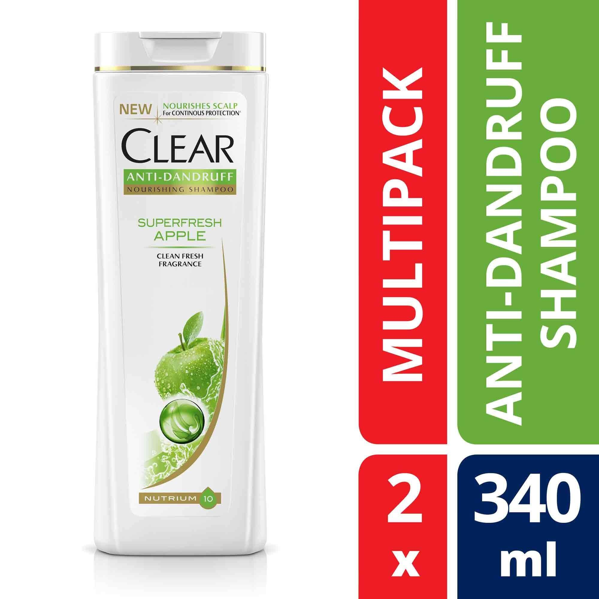 Sell Eleven 2 Clear Cheapest Best Quality My Store Shampoo Anti Ketombe Ice Cool Menthol 340 Ml Tiwin Pack Myr 37 Superfresh Apple Dandruff X 2myr37