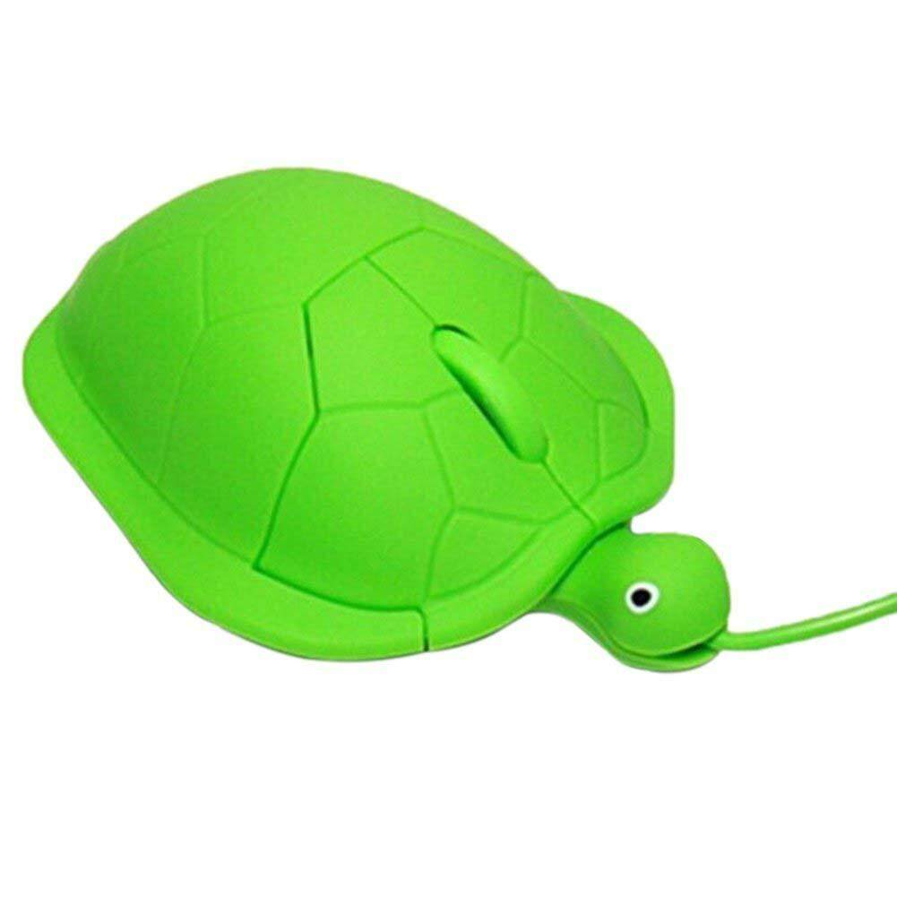 1000dpi Cute Cartoon Anime Fashion Turtle PC Laptop Optical USB Mouse, Green Malaysia