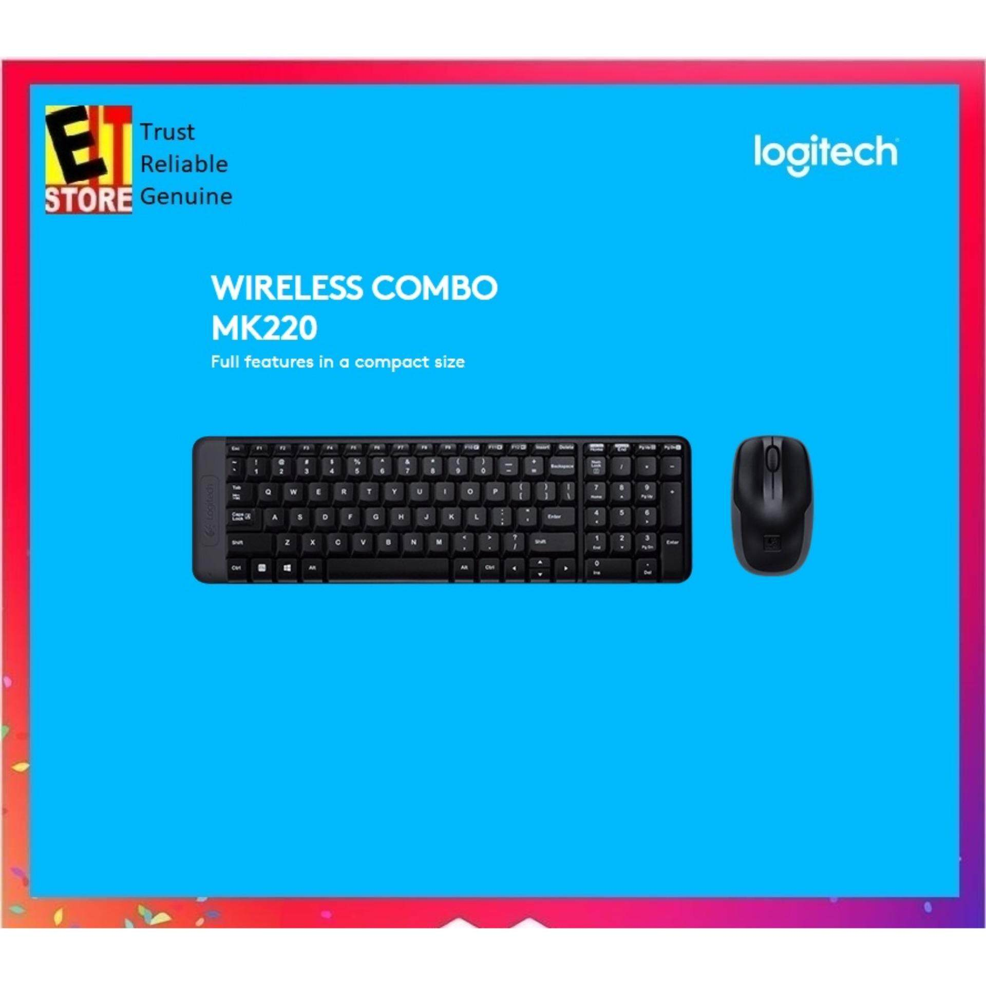 57a9812294b Logitech MK345 Wireless Combo (BLACK) - (Keyboard + Mouse) Malaysia