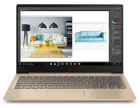 Lenovo Ideapad 320S 131KB 81AK000TMJ (Ultrathin, i5-8250U, 4GB, 256GB SSD, NVIDIA® GEFORCE® MX150 (2G DDR5),13.3 FHD IPS AG, Win 10 Home, 1.2kg, Gold, 2 Yrs On-Site Warranty by Lenovo) Malaysia