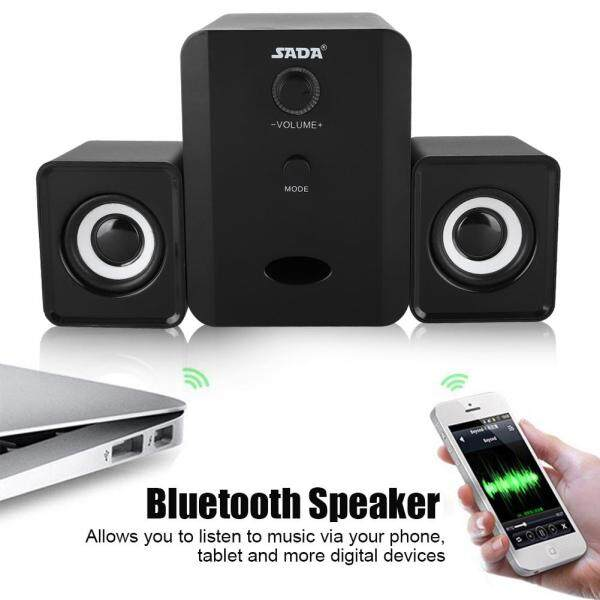 5V UBS Powered 3 Stereo Bass Speaker SADA Bluetooth Speaker for iPad Computer Malaysia