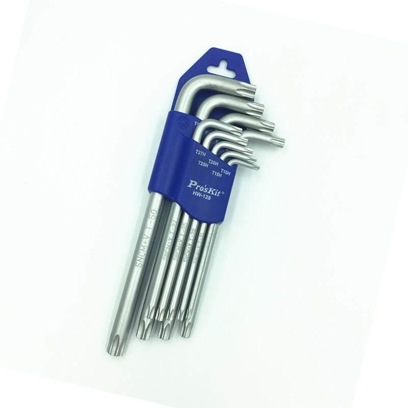 ProsKit HW-128 Long Arm Tamper Star Key Set