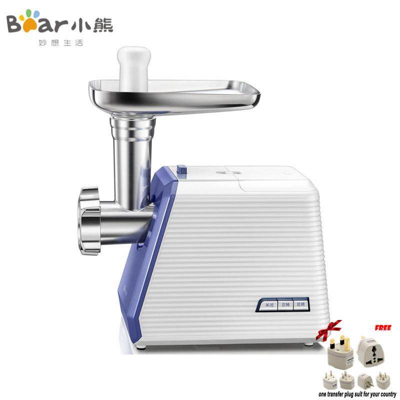 LAHOME Bear JRJ-B04U2 Meat Grinder Electric Household Cooking Machine Multifunctional Meat Enema Stainless Steel