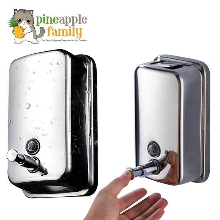500ml Stainless Steel Pump Shower Soap Dispenser By Pineapple Family.