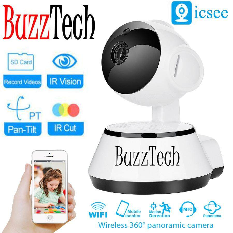 Buzztech Icsee Puppy Design Ip Cam 720p Hd Wifi Wireless Ip Camera Security Wireless Cctv Night Vision Baby Monitor Camera By Buzztech.