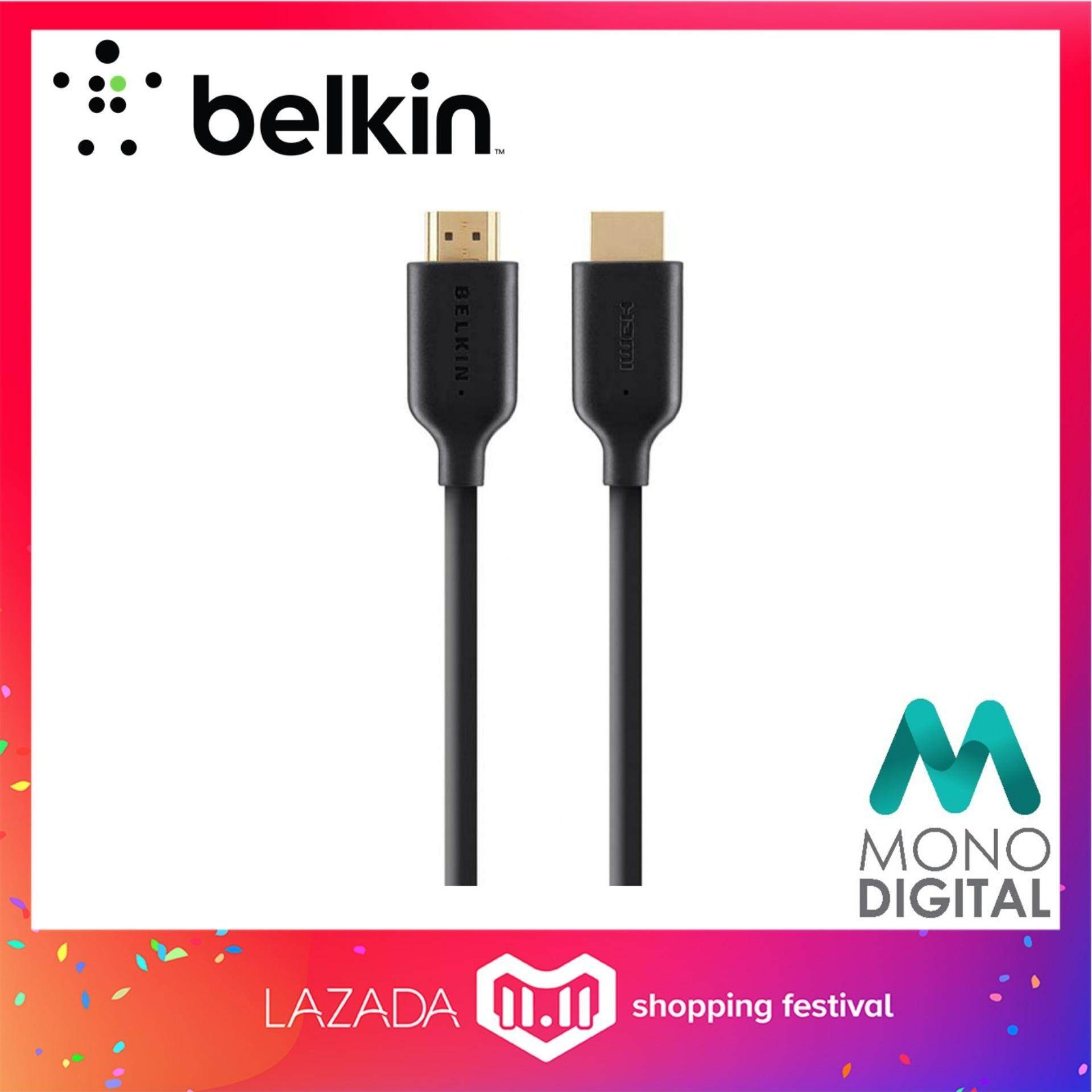 Computer Laptop Ethernet Cables For The Best Prices In Malaysia Electrical Wiring Youtube Together With Sewing Machine 2 Pin Belkin Gold Plated High Speed Hdmi Cable 1meter F3y021bt1m