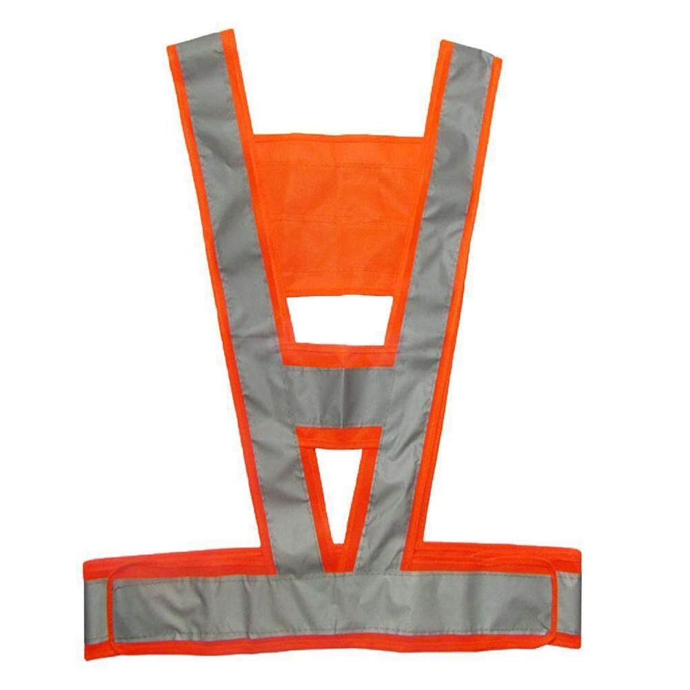 Hi Vis High Viz Visibility Vest Waistcoat Jacket Security Reflective Coat