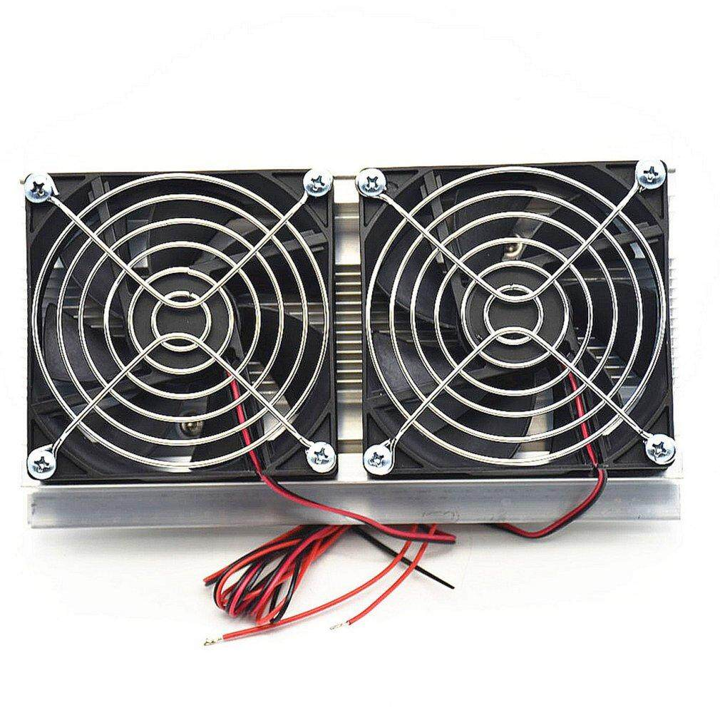Beau Thermoelectric Peltier Refrigeration Cooling System Kit Double Fans Cooler Malaysia