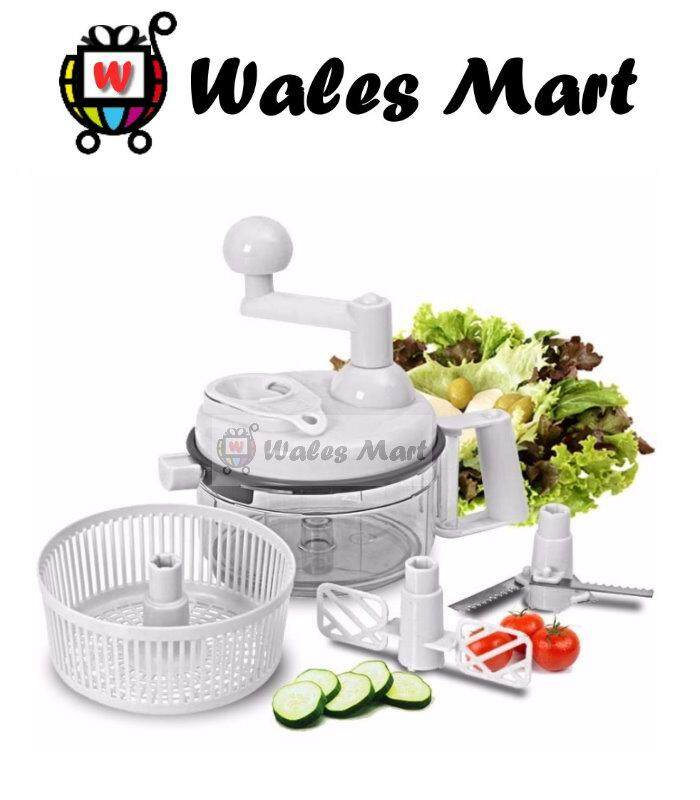 Multi-Function Food Processor Slicer Chopper Stuff Maker Mixer Swift Chopper (asotv) By Wales Mart.